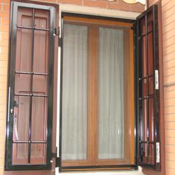 Protezioni esterne - Inferriate mobili per finestre ...